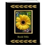 Black and Gold Deluxe 9x12 Book - 9x12 Deluxe Photo Book (20 pages)