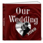 Our Wedding 8x8 DELUXE 20 Page Photo Book - 8x8 Deluxe Photo Book (20 pages)