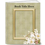 Floral Elegance 8x10 Deluxe Book - 8x10 Deluxe Photo Book (20 pages)