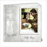 Our Wedding 6x6 Book (20 Pages) White - 6x6 Photo Book (20 pages)