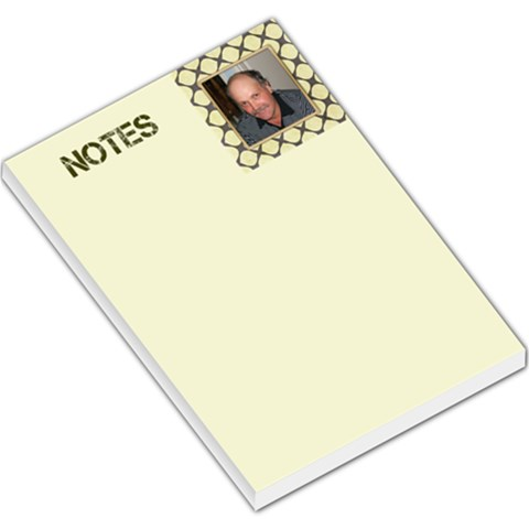 Male Large Notes By Deborah   Large Memo Pads   O6pi5wvz23fq   Www Artscow Com