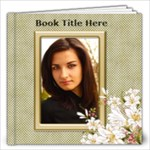 Floral Elegance 12x12 (20 page) book - 12x12 Photo Book (20 pages)