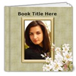 Floral Elegance Deluxe 8x8 (20 page) book - 8x8 Deluxe Photo Book (20 pages)