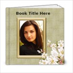 Floral Elegance 6x6 (20 page) book - 6x6 Photo Book (20 pages)