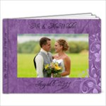 OUR wedding book - 9x7 Photo Book (20 pages)
