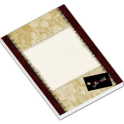 Ai By Val   Large Memo Pads   W1mzyzsppkyg   Www Artscow Com