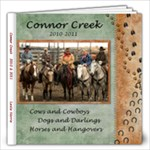 Connor Creek Book - 12x12 Photo Book (40 pages)