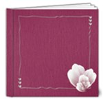 purple 8x8 deluxe photo book - 8x8 Deluxe Photo Book (20 pages)