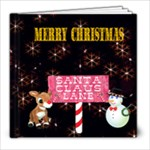 Christmas Wonders 8x8 book - 8x8 Photo Book (20 pages)