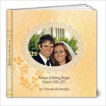 Boyes Wedding - 8x8 Photo Book (20 pages)