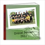 DREXEL SOCCER BOOK - 6x6 Photo Book (20 pages)