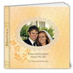 Boyes Wedding - 8x8 Deluxe Photo Book (20 pages)