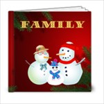 Family Christmas - 6x6 Photo Book (20 pages)