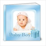 baby boy - 6x6 Photo Book (20 pages)