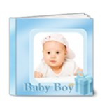 baby boy - 6x6 Deluxe Photo Book (20 pages)