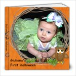 Giuliana s First Halloween - 8x8 Photo Book (20 pages)