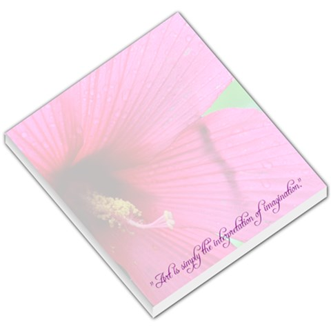 Hibiscus Memo By Charity   Small Memo Pads   Abuwukvi3s6m   Www Artscow Com