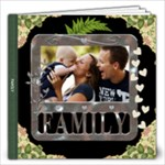Family 12x12 60 Page Photo Book - 12x12 Photo Book (60 pages)
