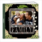 Family 8x8 60 Page Photo Book - 8x8 Photo Book (60 pages)