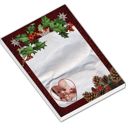 Christmas Large Memo Pad By Lil    Large Memo Pads   630fhyfw7fk6   Www Artscow Com