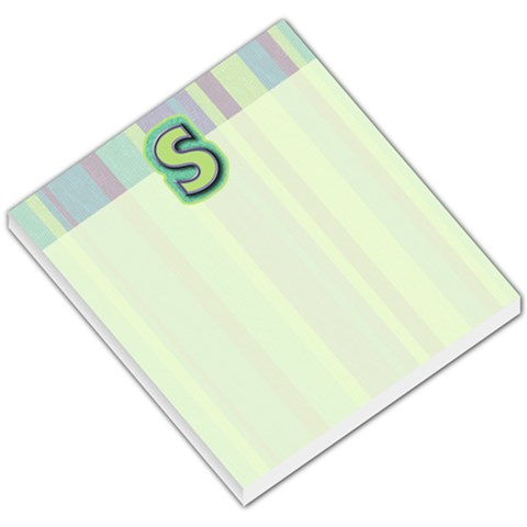 Stacy1 By Lindsay   Small Memo Pads   28wj18bk0d77   Www Artscow Com
