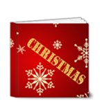 Family Christmas 4x4 book - 4x4 Deluxe Photo Book (20 pages)