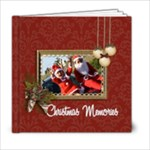 6x6 (20 pages): Christmas Memories - 6x6 Photo Book (20 pages)