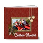6x6 DELUXE: Christmas Memories - 6x6 Deluxe Photo Book (20 pages)