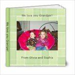 Grandpa Greenfield Book - 6x6 Photo Book (20 pages)