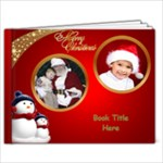 Red and Green Christmas 9x7 book (20 Pages) - 9x7 Photo Book (20 pages)