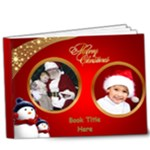 Red and Green Deluxe Christmas 9x7 book (20 Pages) - 9x7 Deluxe Photo Book (20 pages)