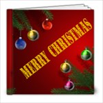 Merry Christmas 8 x8 book - 8x8 Photo Book (20 pages)