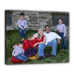 family canvas - Canvas 20  x 16  (Stretched)
