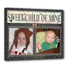 Sweet Child of Mine 24x20 Stretched Canvas - Canvas 24  x 20  (Stretched)
