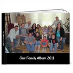 Our Family Album 2011 - 11 x 8.5 Photo Book(20 pages)