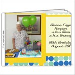 Granny 80th birthday - 9x7 Photo Book (20 pages)