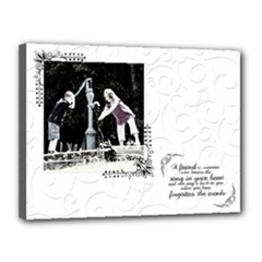 friend canvas - Canvas 16  x 12  (Stretched)