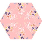 Pastel Flower Umbrella - Mini Folding Umbrella