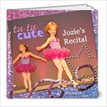 Tutu Cute - Jozie - 8x8 Photo Book (20 pages)