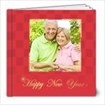 new year and xmas - 8x8 Photo Book (20 pages)