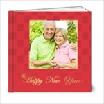 new year and xmas - 6x6 Photo Book (20 pages)