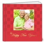 new year and xmas - 8x8 Deluxe Photo Book (20 pages)