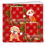 Christmas for the kids deluxe photo book - 8x8 Deluxe Photo Book (20 pages)