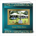 Festive Elegant 8x8 Picture Book (30 Pages) - 8x8 Photo Book (30 pages)