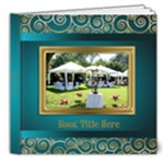 Festive Elegant 8x8 Deluxe Picture Book (20 Pages) - 8x8 Deluxe Photo Book (20 pages)