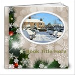 Winter Snowflake 8x8 book (30 pages) - 8x8 Photo Book (30 pages)