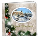 Winter Snowflake 8x8 Deluxe Book (20 pages) - 8x8 Deluxe Photo Book (20 pages)