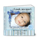 Baby Clark Guestbook - 6x6 Deluxe Photo Book (20 pages)