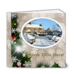 Winter Snowflake Deluxe 6x6 book (20 pages) - 6x6 Deluxe Photo Book (20 pages)