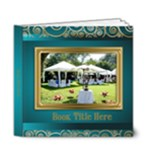 Festive Elegant Deluxe  6x6 Picture Book (20 Pages) - 6x6 Deluxe Photo Book (20 pages)